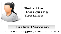 Trainee Bushra